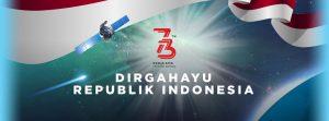 Dirgahayu Republik Indonesia 73 THN