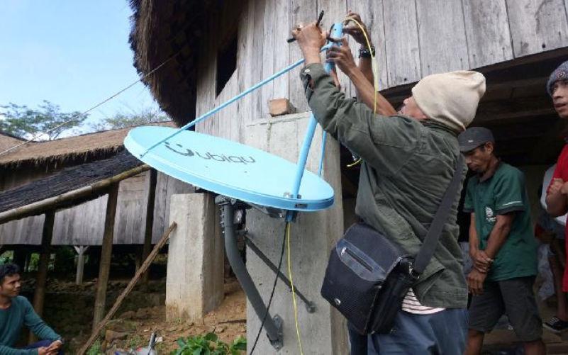 Ubiqu memberikan akses Internet untuk Kawasan Ekowisata Desa Waerebo