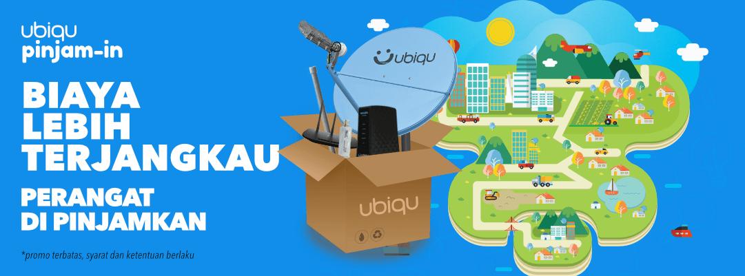 UBIQU INTERNET SATELIT BROADBAND MURAH HANYA 2 JUTA
