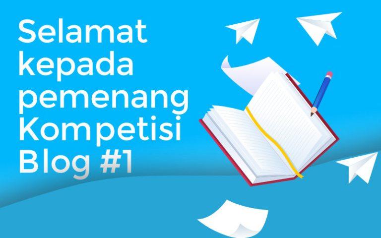 pemenang kompetisi blog