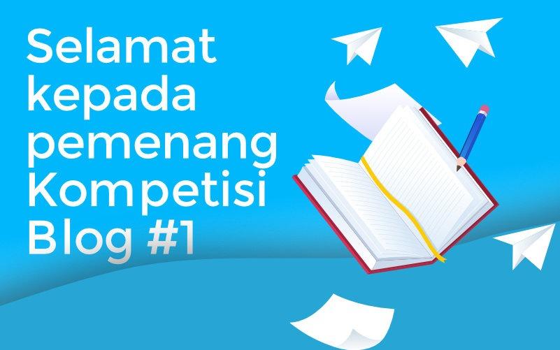Selamat kepada pemenang UBIQU Blog Contest #1