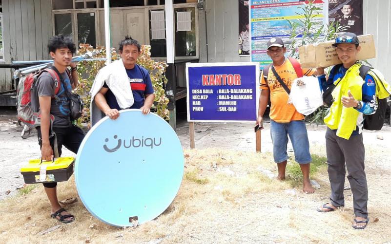 Cerita Pemasangan Ubiqu di Gugusan Kepulauan Bala Balakang Timur