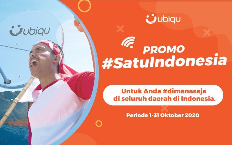 Promo UBIQU SATUINDONESIA, dapatkan penawaran menarik