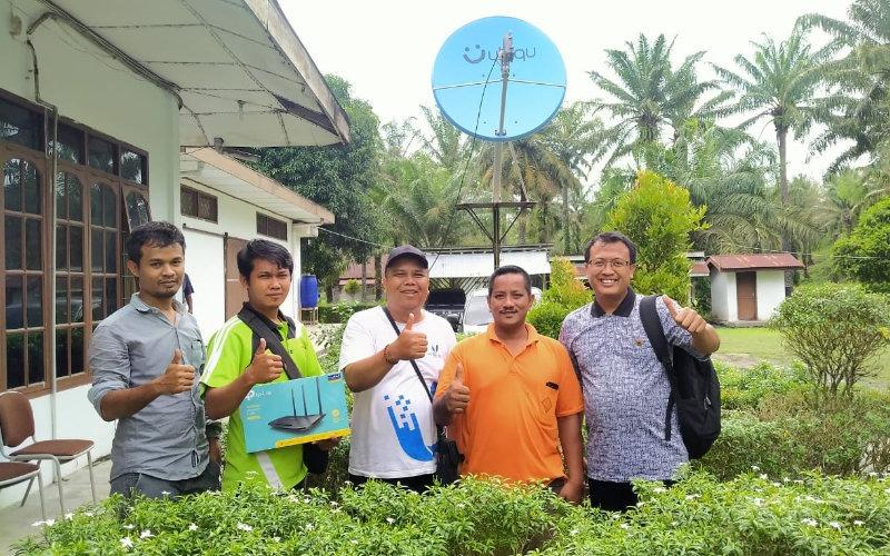 Perkebunan Tanjung Kasau Terbebas dari Masalah Konektivitas Internet