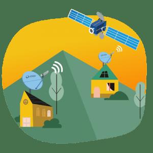 internet satelit semurah GSM