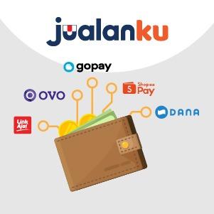 Jualanku sekarang bisa Transfer Uang melalui e-wallet (dompet digital)